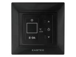 Терморегулятор для теплого пола Е-34 черный Втраеваемый 3,5 кВт EASTEC