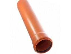 Труба РР   110 * 2,7 * 1 м    (оран)                 Метак
