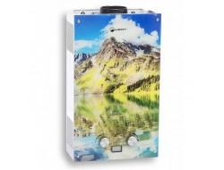 Водонагреватель газовый WERT 10EG цветная  Mountains (10л/20кВт)