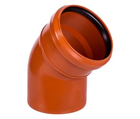 Отвод   315 * 45*   (рыжий)      SINIKON