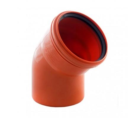 Отвод Ø 110   45*   (рыжий)      SINIKON           (20шт)