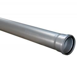 Труба канализационная (усиленная)  110/2,7  * 0,5 м           SINIKON