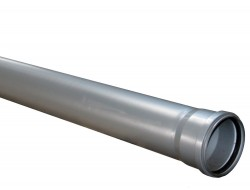 Труба канализационная (усиленная) 110/2,7  * 1 м            SINIKON