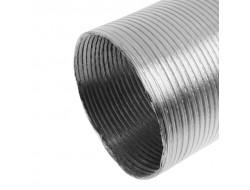 Гофра алюминиевая для газовых колонок d150  L- 3 м