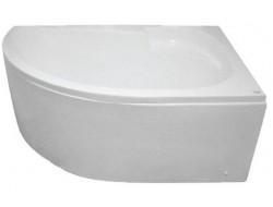 Ванна акриловая угловая     KO&PO 4009  R   170*100*54  с каркасом и панелью