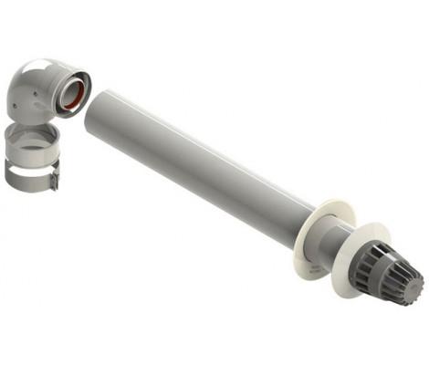 Коаксиальная труба с наконечником  100/60   0,75м  HAIER/ROCTERM