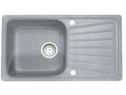 Мойка   КМ 81-46 SGA-251 искристый серый  Fosto