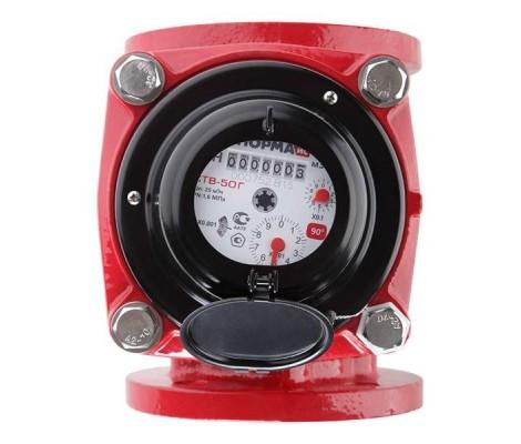Счетчик для горячей воды фланцевый СВТ 65 Норма