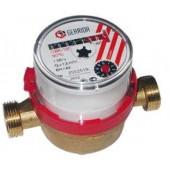 Водомер GERRIDA CBK 15 Г (универсальный) с обратным клапаном