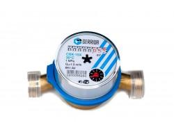 Водомер GERRIDA CBK 15 Х с обратным клапаном (для холодной воды)