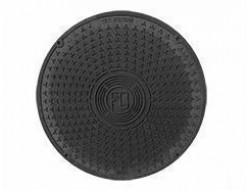 Крышка люка 455 (черная) FD-Plast