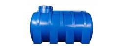 Ёмкость горизонтальная Синяя 3000л (выс:150см; дл:200см; шир:150см) Байдар Пласт