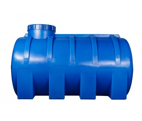 Емкость     3000л   горизонтальная Синяя (в150*д200*ш150)