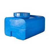 Ёмкость прямоугольная Синяя 200л (выс:52см; дл:80см; шир:62см) Байдар Пласт