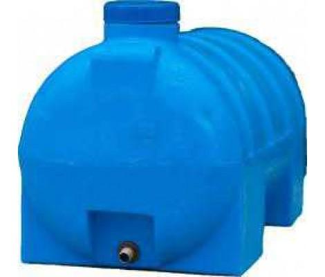 Емкость      300л   горизонтальная  Синяя (в73*д113*ш62)