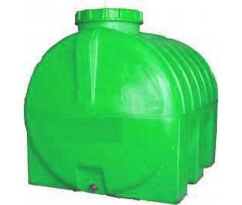 Емкость      750л   горизонтальная  Зеленая (в98*д128*ш88)