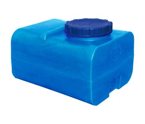 Емкость       100л   прямоугольная  Синяя     (в35*д68*ш48)