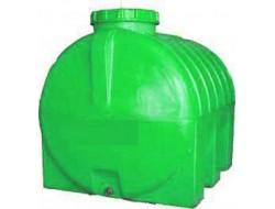 Емкость      500л   горизонтальная  Зеленая  (в84*д134*ш69)