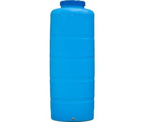 Емкость     1000л   вертикальная  Синяя  (в150*д99)
