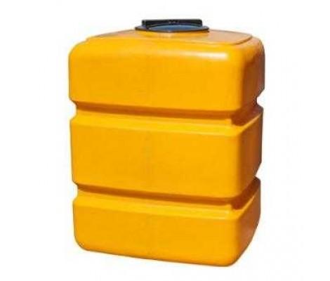 Емкость       200л   прямоугольная Желтая (в53*д73*ш63)