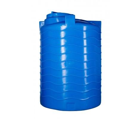 Ёмкость     2500л   вертикальная Синяя  (в215-д129)