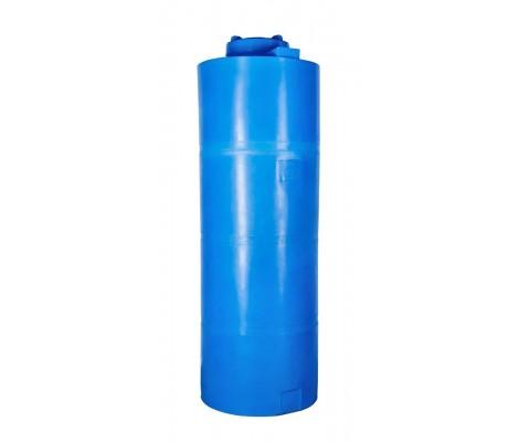 Ёмкость вертикальная Синяя 1000л (выс:222см; Ø:76см) Байдар Пласт