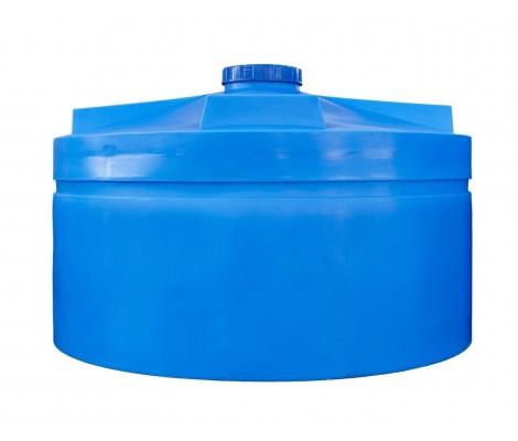 Ёмкость вертикальная Синяя 5000л (выс:140см; Ø:241см) Байдар Пласт