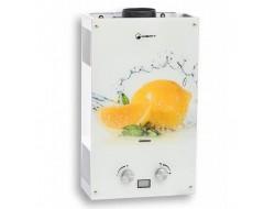 Водонагреватель газовый WERT 10EG цветная  Lemon (10л/20кВт)