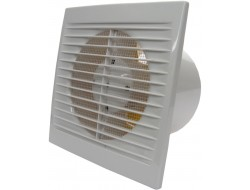 Вентилятор осевой вытяжной с сеткой, шнуровым тяговым выключателем Домовент 100С 1В