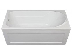 Ванна акриловая  WEST  120*70  с каркасом (36-38)  и панелью