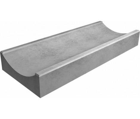 Лоток полимерный мелкосидящий серый