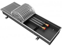 Внутрипольный радиатор отопления KVZ 200-85-1600 без решетки Techno
