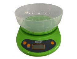 Весы   ВБЭ  7 кг  зелен электрон с чашкой