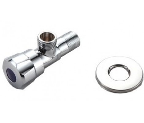 """Кран угловой вентильный для подключения сантехнических приборов 1/2"""" F7302 Frap"""