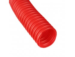 Труба защитная гофрированная для труб 25 мм (красная) Dn 35 мм