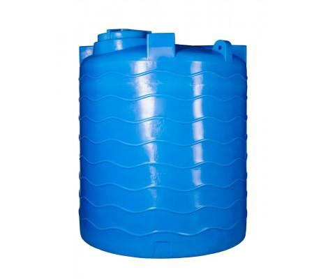 Ёмкость вертикальная Синяя 4000л (выс:194см; Ø 178см) Байдар Пласт