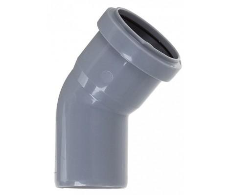 Отвод канализационный 32/45° FLEXTRON