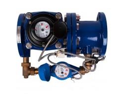 Водомер Dual 50/20 I импульсный, обводной Groen