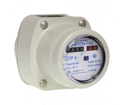 Счетчик газа с комплектом монтажных частей СГР-4,0 ТРИТОН-газ