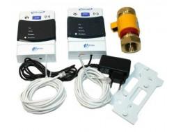Система автомат контроля загазованности САКЗ-МК-А- 2- 20 НД (природный+угарный газ СО) ( желт клап)