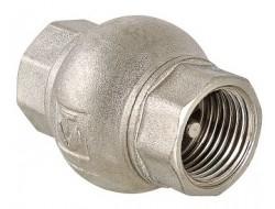 Клапан обратный латун золотник 3/4 VALTEC