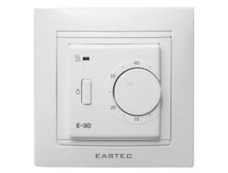 Терморегулятор для теплого пола встраиваемый 3,5 кВт Е-30 EASTEC