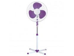 Вентилятор напольный  фиолетовый 120Вт/ ВН16У Ассоль Комфорт