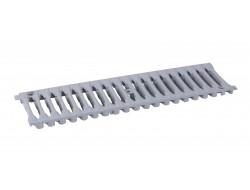 Решетка полимерная В-125 серая 0,5м