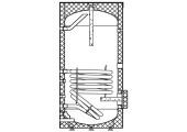 Водонагреватель косвенного нагрева напольный с одним теплообменником CWH 150.1 Elitec Electrolux