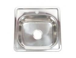 Мойка для кухни FRAP 0.6 мм          38*38*17,5 глянец               F63838