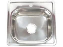 Мойка для кухни FRAP 0.6 мм          38*38*17,5 декор               FD63838  (кр)