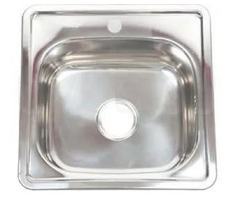 Мойка для кухни FRAP 0.6 мм          38*38*17,5 декор               FD63838
