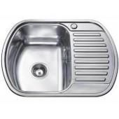 Мойка для кухни FRAP 0.6 мм          63*49*17,5 матовая               FS64963