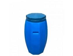 Бидон пластиковый синий 120 л Байдар Пласт